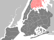 Category:Maps of New York City: New York City - Bronx.PNG