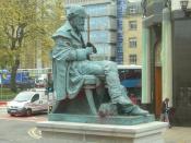 English: James Clerk Maxwell statue in George Street, Edinburgh