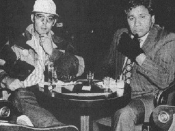 The 1971 Thompson and Acosta personae, on which Raoul Duke and Dr. Gonzo were based