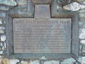 Mark Twain Cabin historical marker sign