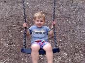 Simon on swings
