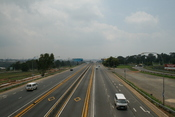 English: The M70 (Soweto Highway) next to Soccer City in Nasrec, Johannesburg, Gauteng, South Africa