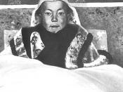 The 14th Dalai Lama as a young boy.