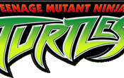 The TMNT logo of the 2003 animated series.