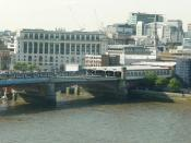 Blackfriars Bridge and Unilever House