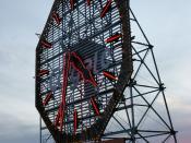 Deutsch: Colgate Uhr Jersey City