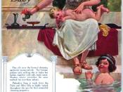 English: Palmolive Soap magazine ad from 1915