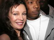 English: Jaid Barrymore and Ja Rule in February 2005.