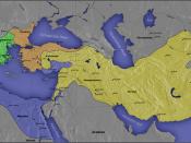 Español: Imperio tolemaico (azul) Nederlands: De diadochenrijken in 300 v.Chr.