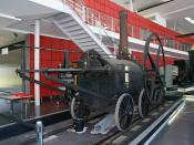 Richard Trevithick 1804 Pen y Darren locomotive