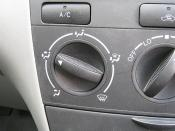 Corolla vent control