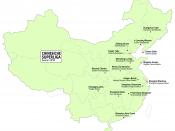 English: Teams of the Chinese football Super League 2010. Thematic map. Deutsch: Vereine der chinesischen Fussball-Superliga 2010. Thematische Karte.