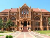 English: 1890 Ashbel Smith Building on the campus of the University of Texas Medical Branch on Galveston Island, Texas, USA