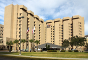 English: John Sealy Hospital on the campus of the University of Texas Medical Branch in Galveston, Texas.