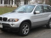 2004-2006 BMW X5 photographed in Kensington, Maryland, USA. Category:BMW E53