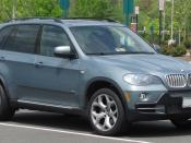 2007-2008 BMW X5 photographed in Gainesville, Virginia, USA. Category:BMW E70
