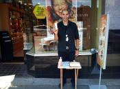 Noel representing The Body Shop on South Granville