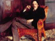 Portrait of Robert Louis Stevenson