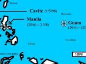 Batallas del pacifico en la guerra de cuba.