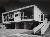 English: Rose Seidler House at Turramurra (now Wahroonga, New South Wales), Sydney, Australia, designed by the architect Harry Seidler for his parents and winner of the Sir John Sulman medal in 1951.