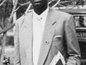 Patrice E. Lumumba; Congo prime minister, premier ministre congolais, kongolesischer Ministerpräsident