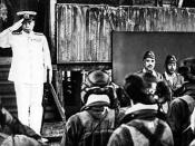 ja: 山本五十六生前最後の写真。 en: The last picture of Isoroku Yamamoto (1884–1943), taken shortly before his plane was shot down.