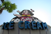 English: Cathy themed ice cream stand at Islands of Adventure theme park in Florida