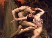 Dante And Virgil In Hell by William-Adolphe Bouguereau (1850)