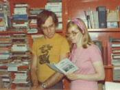 John Muller and Sharon Presley, Founders of Laissez Faire Books, in 1972.