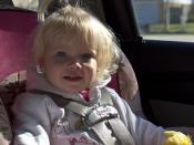 Brooke in Her Car Seat