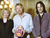 The Sweetapples with Sir. Richard Branson