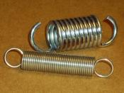 Springs are used for storing elastic potential energy