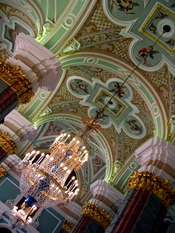English: Peter and Paul Cathedral Interior, St. Petersburg, Russia.