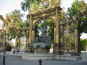 English: Fountain of Amphitrite at Place Stanislas in Nancy, France