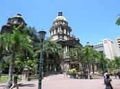 English: Durban City Hall Deutsch: Das Rathaus von Durban Esperanto: la urbodomo de Durban