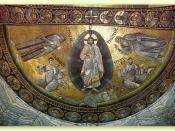 Mosaic of the Transfigration, St. Catherine's Monastery, Mount Sinai