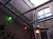 Courtyard lights
