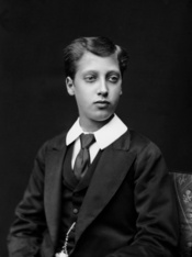 English: Photograph of Prince Albert Victor of Wales