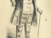 Image taken from page 15 of 'Dombey and Son [by Charles Dickens]. Full-length portraits of Dombey & Carker, Miss Tox, Mrs. Skewton, Mrs. Pipchin, Old Sol & Captain Cuttle, Major Bagstock, Miss Nipper, Polly. In eight plates, designed and etched by H. K. B