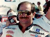 NASCAR champion Dale Earnhardt, taken by official NASCAR photographer Darryl Moran