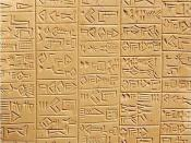 English: Schøyen Collection MS 3029. Sumerian inscription on a creamy stone plaque, 9,2x9,2x1,2 cm, 6+6 columns, 120 compartments of archaic monumental cuneiform script by an expert scribe. The image is a detail, showing about half of one face of the plaq