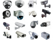 English: Different Types of Cctv Cameras