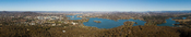 Canberra From Black Mountain Tower, Australia