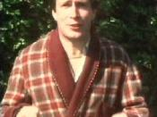Simon Jones as Arthur Dent, watching his home being demolished in the first television episode.