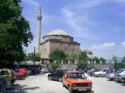Български: Мустафа паша джамия в Скопие, Република Македония.