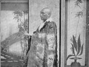 Japanese Buddhist priest c.1897
