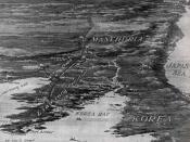 Battlefields in the Russo Japanese War