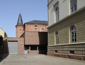 English: Lörrach: prison Deutsch: Lörrach: Justizvollzugsanstalt
