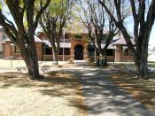 English: Moree Court House, Frome St.