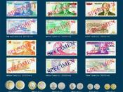 English: New Turkish Lira Banknotes and coins